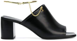 Jil Sander anklet detail sandals