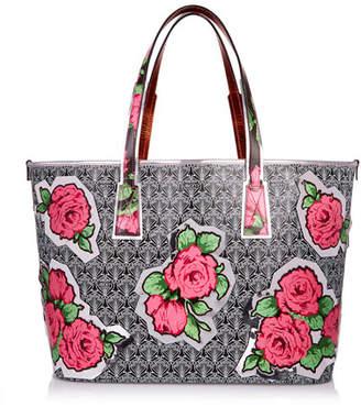 Liberty London RQ Iphis Marlborough Rose Tote Bag