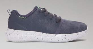 Under Armour Boys' Pre-School UA Charged 24/7 Low Suede Shoes