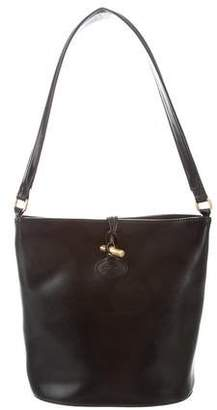 Longchamp Leather Roseau Shoulder Bag
