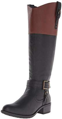 Rampage Women's Ivelia Fashion Knee High Casual Riding Boot