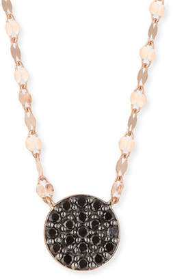 Lana 14k Reckless Black Diamond Pavé Pendant Necklace