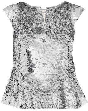 Oscar de la Renta Short Sleeved
