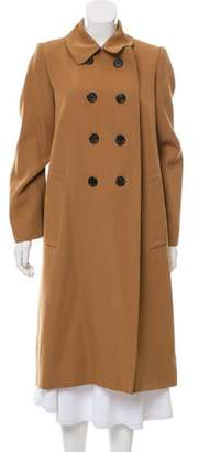 Marc Jacobs Double-Breasted Wool Coat
