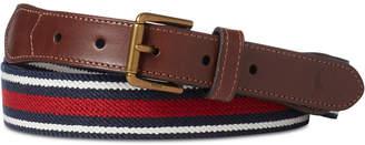 Polo Ralph Lauren Men's Striped Stretch Webbed Belt