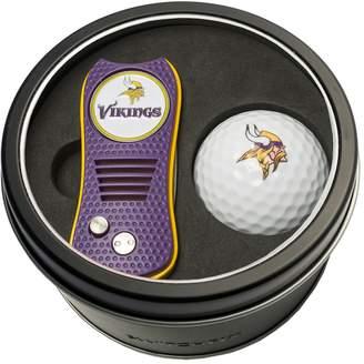 Team Golf Minnesota Vikings Switchfix Divot Tool & Golf Ball Set
