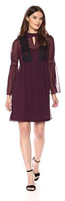 Jessica Simpson Women's Solid Baby Doll Dress,4