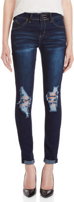 YMI Jeanswear Wanna Better Butt Mid-Rise Ankle Jeans