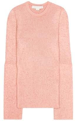 Stella McCartney Wool-blend knitted sweater