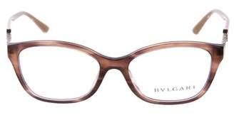 Bvlgari Marble Embellished Eyeglasses
