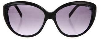 Fendi Logo Cat-Eye Sunglasses