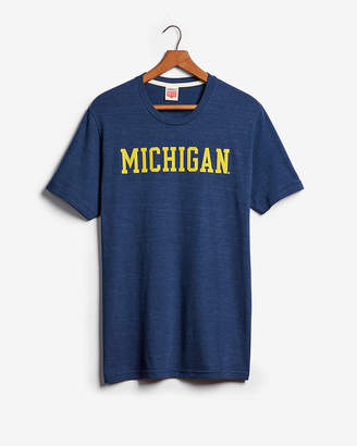 Express Homage University Of Michigan Graphic Tee