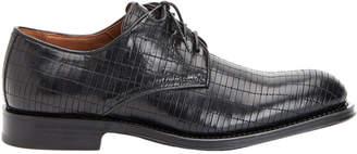 Aquatalia Men's Vance Woven Waterproof Leather Oxford