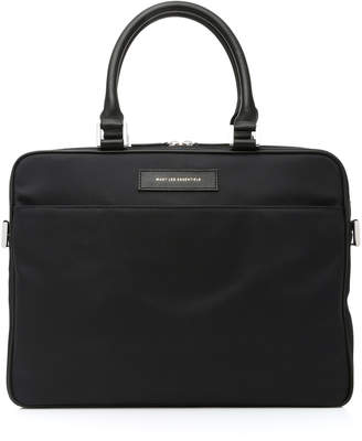 WANT Les Essentiels Haneda Leather-Trimmed Nylon Computer Bag