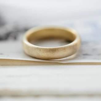 Gents Alison Macleod Soft Pebble Wedding Ring
