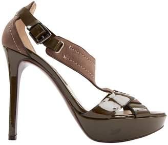Gianfranco Ferre Leather heels