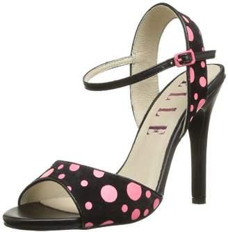 Elle Women's Neuilly Fashion Sandals Black Size: 4