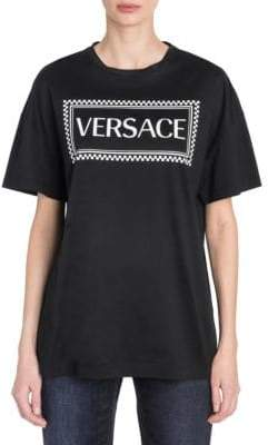 Versace Short Sleeve Logo Tee