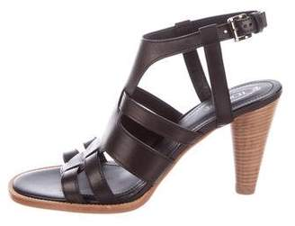 Tod's Multistrap Leather Sandals