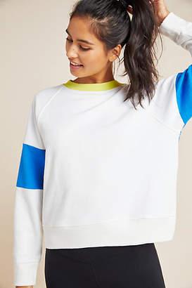 Splits59 Rugby-Striped Sweatshirt