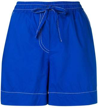 a5197ccbed Womens Cotton Elastic Waist Shorts - ShopStyle UK