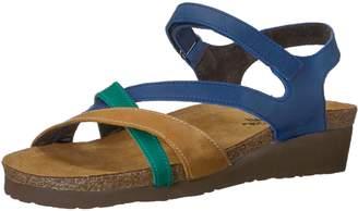 Naot Footwear Sophia, Maple Latte Brown Mirror Leather, 38 (US Women's 7) M