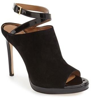 Women's Calvin Klein 'Samantha' Ankle Strap Mule $139.95 thestylecure.com