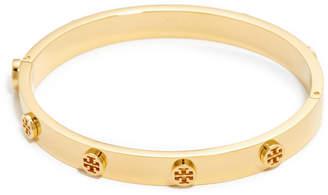 Tory Burch Logo Stud Hinge Bracelet $128 thestylecure.com