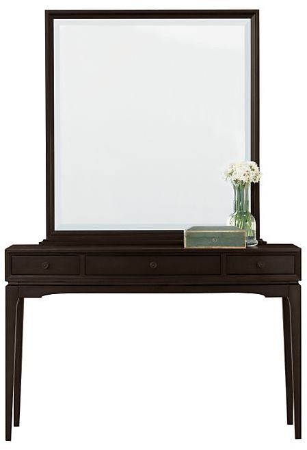 Portman Vanity with Mirror Espresso