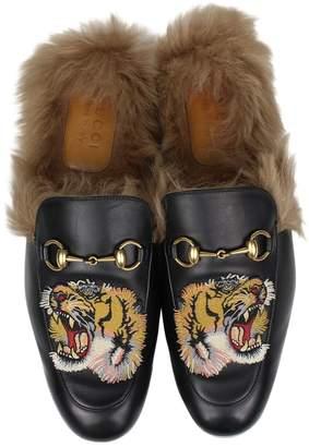 Gucci Leather flats