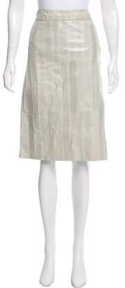 Gucci Eel Pencil Skirt