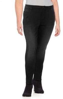 Vigoss Plus Classic-Fit Dark Skinny Jeans