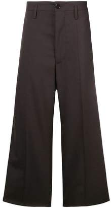 Marni wide leg tailored trousers