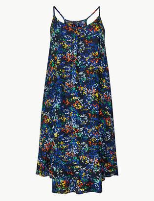 Marks and Spencer Printed Flippy Slip Beach Dress