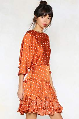 Nasty Gal Dot to Have Your Love Polka Dot Dress