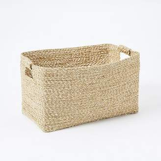 west elm Metallic Woven Storage Baskets