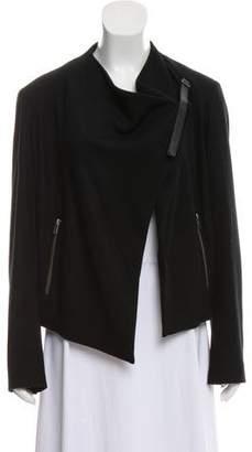 Helmut Lang Asymmetrical Wool Jacket