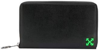 Off-White logo embossed wallet