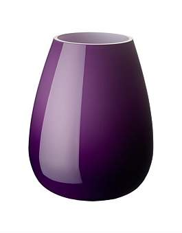 Villeroy & Boch Drop Small Vase Dark Lilac