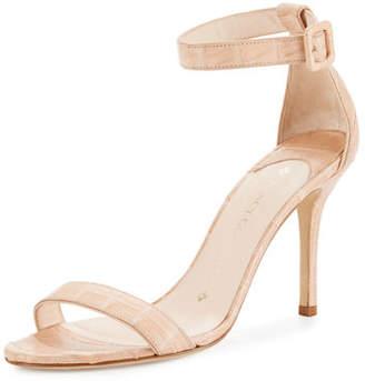 Nancy Gonzalez Tina Crocodile Ankle-Strap Sandal