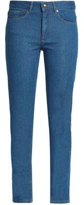 A.P.C. High-rise Slim-leg Jeans