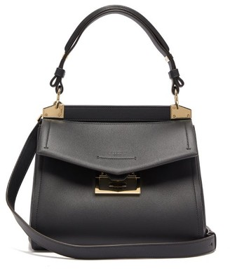Givenchy Mystic Small Leather Top Handle Bag - Womens - Black
