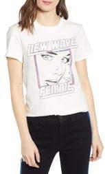 Pam & Gela New Wave Logo Tee