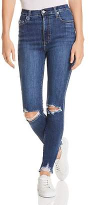 Nobody Siren Skinny Ankle Jeans in Obsess