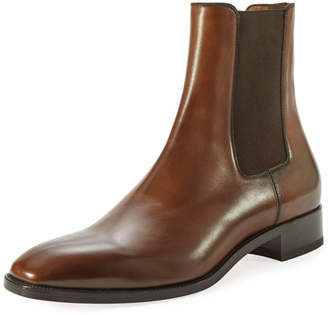 Christian Louboutin Samson Men's Burnished Leather Boot