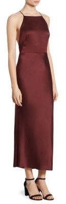 Jason Wu Satin Crisscross Dress $1,495 thestylecure.com