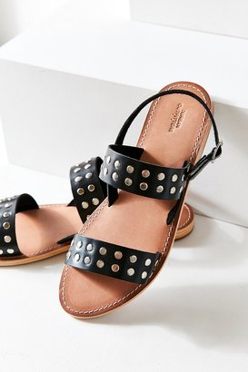 Urban Outfitters Penny Studded Leather Sandal $44 thestylecure.com