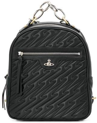 Vivienne Westwood chain strap backpack