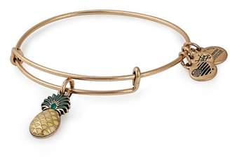 Alex and Ani Pineapple Color Infusion Expandable Charm Bracelet