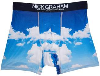 Nick Graham Sky Boxer Briefs Men's Underwear